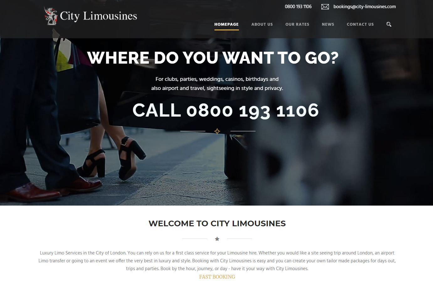 Website Cars and Limousines