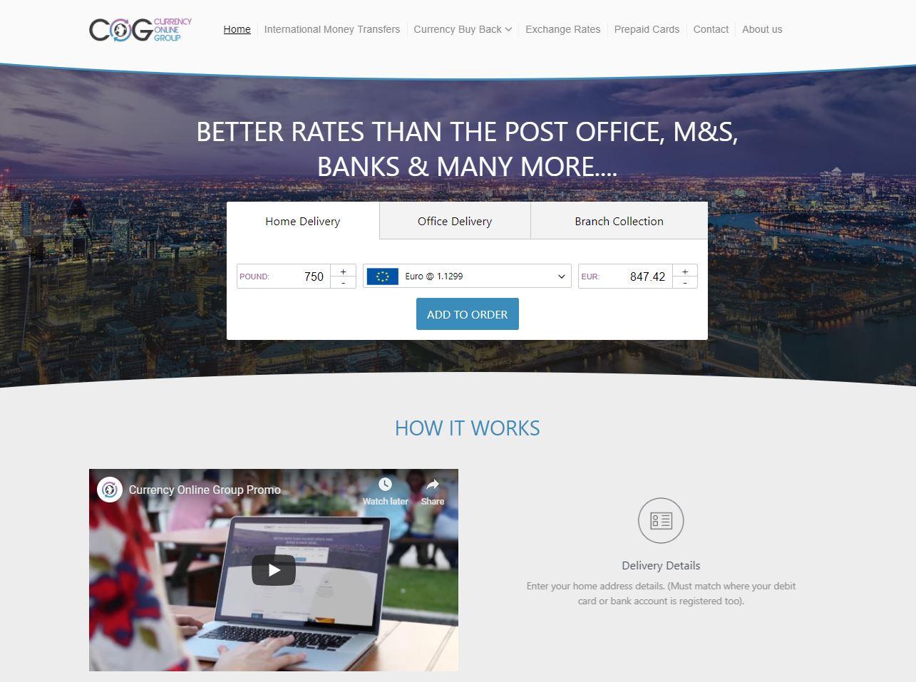 Website, Tech Cloud Solutions Financial