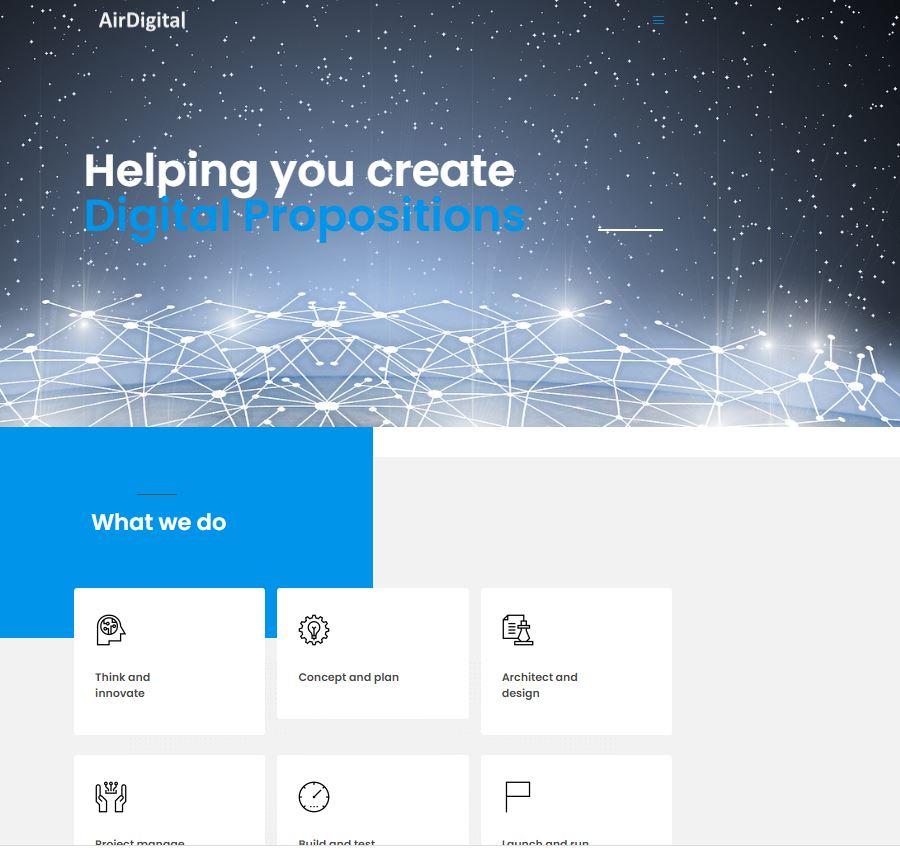Website, Tech Cloud Solutions