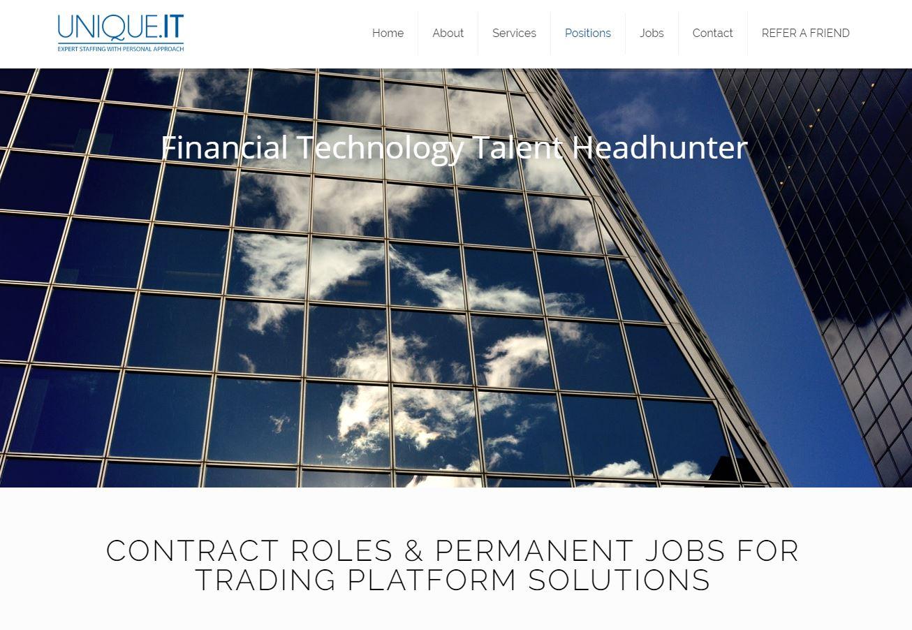 Website, Recruitment